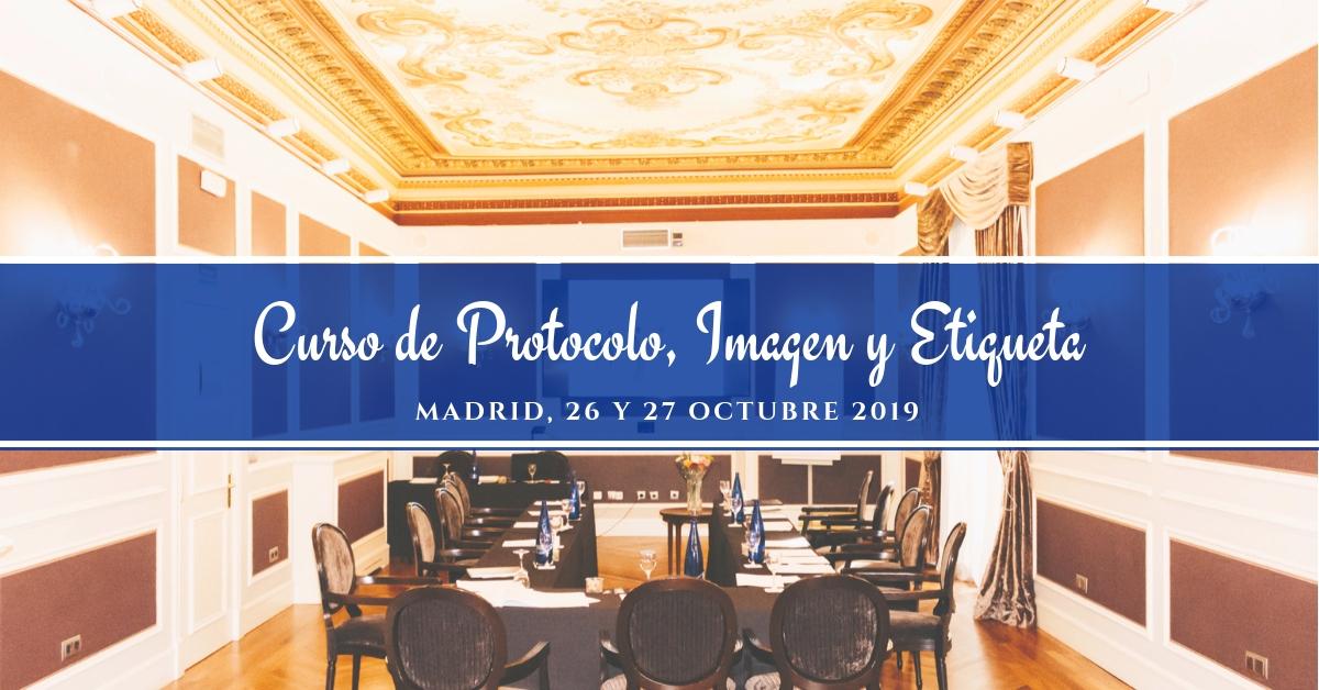 CURSO DE PROTOCOLO IMAGEN Y ETIQUETA OCTUBRE 2019