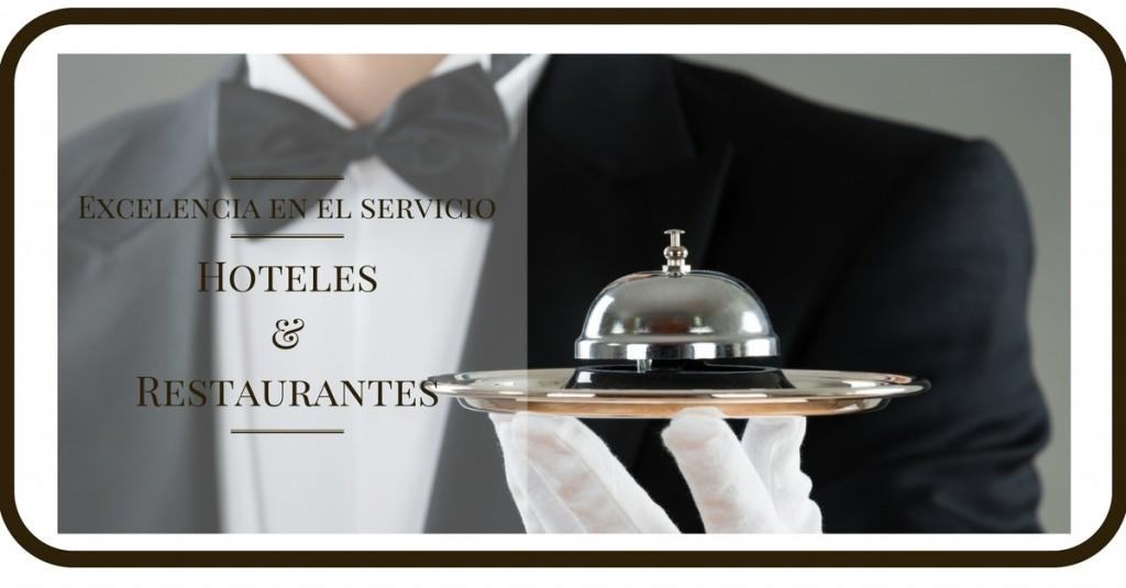 servicio en restaurantes y hoteles