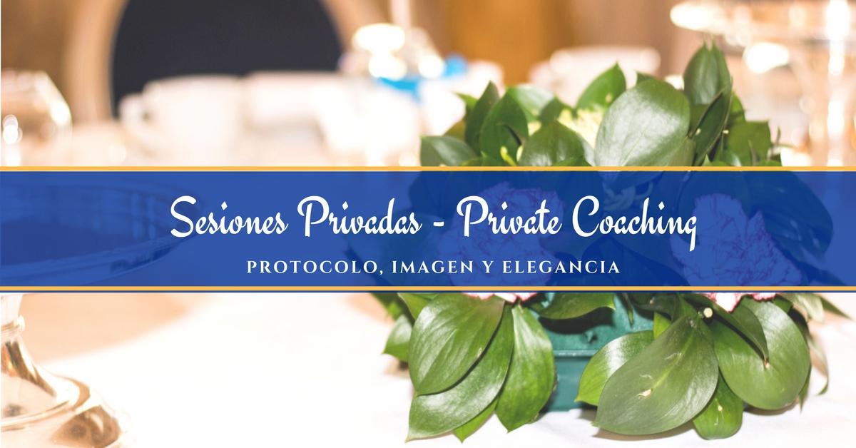 Sesiones privadas de Protocolo