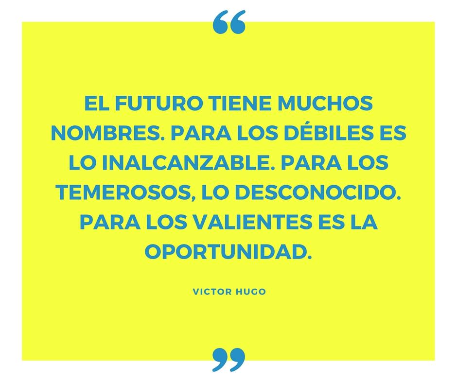 El futuro oportunidad