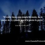 La fórmula del éxito