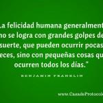 Felicidad Benjamin Franklin