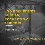 Encuentra el remedio Henry Ford