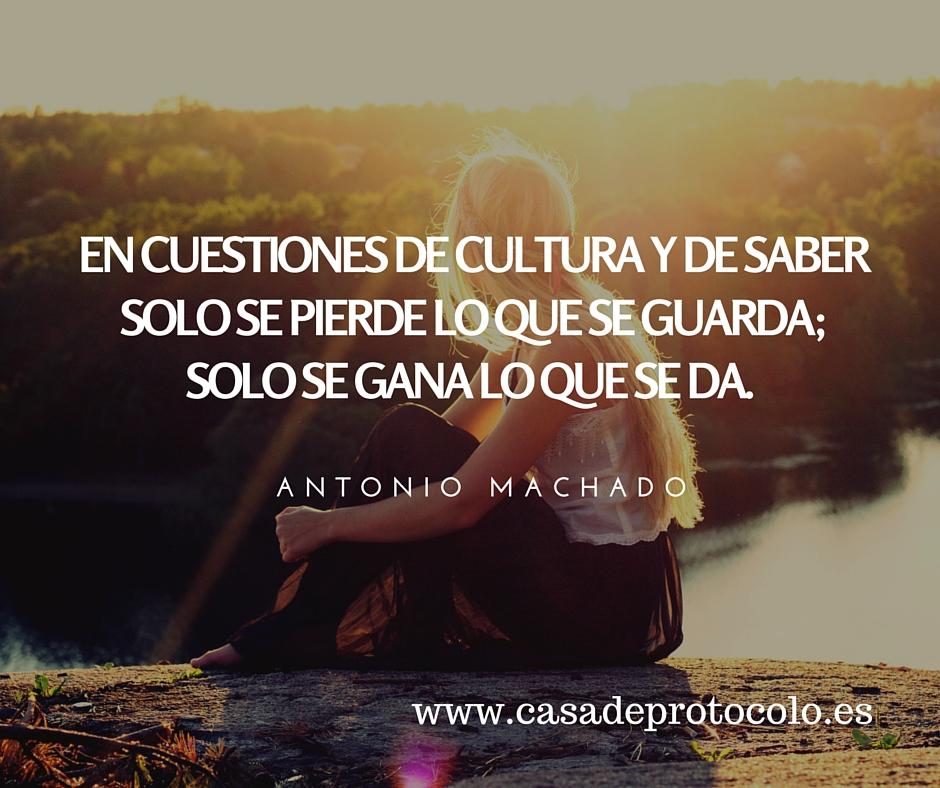 cuestiones de cultura y saber