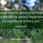 Educación y confianza
